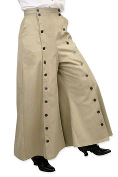 Brushed Twill Convertible Riding Skirt - Tan  Read reviews Item: 002783  $74.95