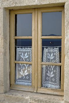 Window in Monemvasia..