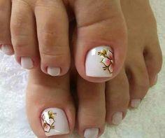 X Great Nails, Toe Nail Designs, Toe Nail Art, Blue Nails, Mani Pedi, Girly Things, Hair And Nails, Pedicures, Nailart