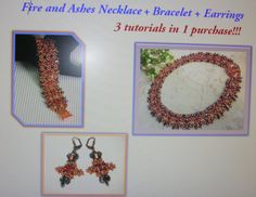 Fire and Ashes  3 tutorials in 1 purchase by zviagil on Etsy, $15.00