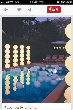 Pool party idea