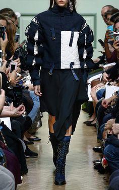 Contrast Slash Sleeve Jacket by J.W. ANDERSON for Preorder on Moda Operandi