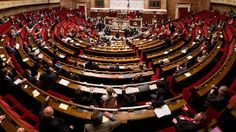 Palestinian recognition was discussed in the French Parliament.