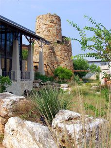 The Lady Bird Johnson Wildflower Center is a nearby oasis of native Texas plants and inspiring landscape design. Can't wait to spend some more time there and borrow some ideas for our yard.