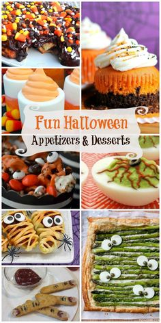 Halloween Desserts and Appetizers — Need some awesome ideas for great Halloween Appetizers, Halloween Desserts, or Halloween foods to take to your next Halloween Party? Here are some great Halloween Recipes to get into the spirit! whatthegirlssay