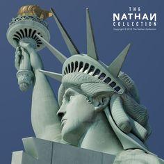 statue of liberty 3d model max c4d obj 3ds fbx lwo stl