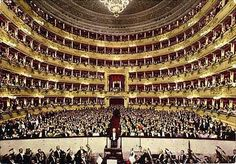 Buy tickets to Milan Opera House: La Scala is an opera house in Milan. Get official Teatro Alla Scala tickets, booking & more at Select Italy. Covent Garden, Opera Musica, Sydney Opera, Les Sopranos, Lyric Opera, Theater, Triomphe, My Kind Of Town, Travel Tours