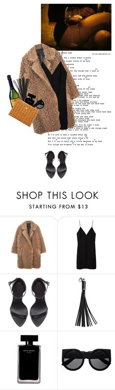 """""""good girl"""" by rosa-loves-skittles ❤ liked on Polyvore featuring T By Alexander Wang, Zara, Vetements, Narciso Rodriguez and MCM"""