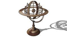 Large preview of 3D Model of Sphère décorative, Maisons du monde. Réf: 130.589 Prix:169€