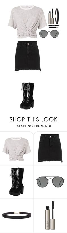 """Untitled #353"" by dutchfashionlover ❤ liked on Polyvore featuring T By Alexander Wang, Ray-Ban, Humble Chic, Ilia and casual"