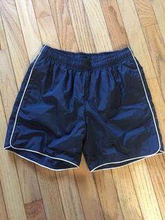 6473e953bc Lands' End Kids Girl's Shorts Size M 10-12 Mesh Interior Navy EUC #