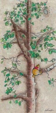 Dick Duerrstein Disney-Hunny Tree - From Disney Winnie the Pooh Winnie The Pooh Quotes, Winnie The Pooh Friends, Baby Quotes, Pooh Bear, Tigger, Eeyore, Disney Love, Disney Magic, Disney Pixar