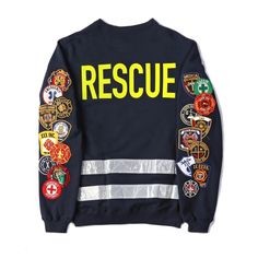 "@10Deep ""Rescue Crewneck"" 