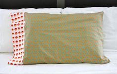 How to make pillow cases AND extend the ones that may not fit.