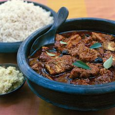 This signature dish of Kerala features firm chunks of kingfish in a deliciously spicy and tangy sauce flavored with tamarind. As a substitute for king...