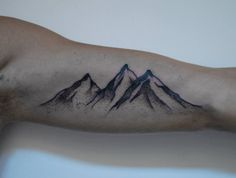 A different place on my body but love the mountains