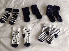 Next navy #white seaside socks 5 pack #bundle baby boys 3-6 months #cotton boat,  View more on the LINK: 	http://www.zeppy.io/product/gb/2/291873115543/