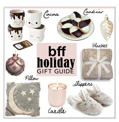 """""""BFF: Holiday Gift Guide"""" by pat912 ❤ liked on Polyvore featuring art, Home, besties and polyvoreeditorial"""