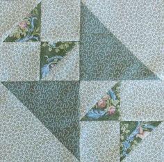Austen Family Album: Block 13: Crosses & Losses for Charles Austen