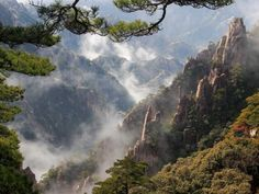 MONT    HUANGSHAN    THE    YELLOW    MOUNTAIN     CHINA
