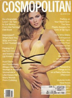 I remember having this copy of Cosmo - wish I still had it today!