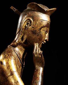 Pensive Bodhisattva     Period/Date: Three Kingdom Period, Early 7th century | Korea