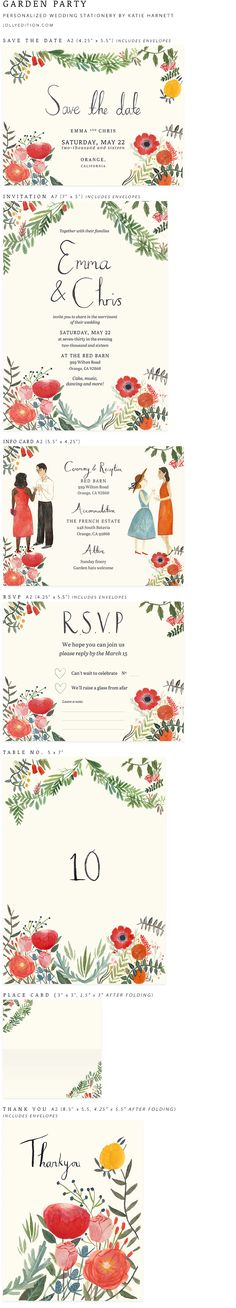 Garden Party by Katie Harnett of Jolly Edition by @jollyedition  Get in touch for a quote.