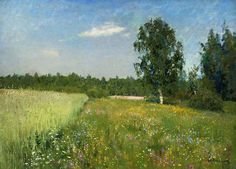"Fan account of Isaac Levitan, a classical Russian landscape painter who advanced the genre of the ""mood landscape"" Russian Landscape, Landscape Art, Landscape Paintings, Russian Painting, Russian Art, Painting Inspiration, Illustration, Nature, Fine Art"