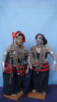 Ethnic group~ Dhimal, by PadmaShree Shrestha. www.PadmaShreeDollWorld.org