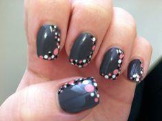 Dots Nail Art by Jillian McDonald at Cypress Nail Studio