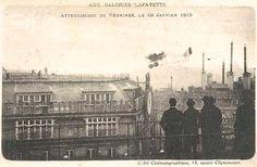 Atterrissage de Jules Védrines le 19 janvier 1919