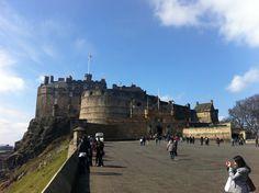 Edinburgh Castle in Midlothian, Midlothian