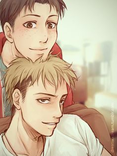 Attack on titan ~~ Jean and Marco