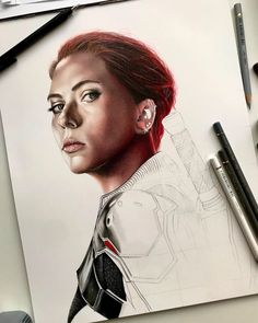 ✍🏻 • • •  #art #artdiscover #dailyart #artsy #arts_promote #instaart #originalart #artistic_support #art_dailydose #realismart #artwork #artsanity #workinprogress #artistoninstagram #artspotlight #artfollowers #traditionalart #blackwidow #marvel #avengers #mcu #natasharomanoff #scarlettjohansson #coloredpencil #coloredpencils #carandache #fabercastellpolychromos #marvelcomics #marvelstudios #iuliancart Marvel Avengers, Marvel Comics, Faber Castell Polychromos, Caran D'ache, Natasha Romanoff, Realism Art, Black Widow, Traditional Art, Insta Art