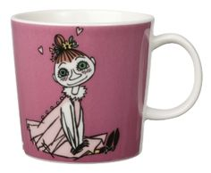 Mymble is Little My's older sister in Tove Jansson's Moomin tales. The Moomins get to know her from Moominpappa's early adventures. In our assortment, we have a wide variety of Moomin character mugs that are perfect as a collectable! Moomin Shop, Moomin Mugs, Ceramic Tableware, Ceramic Cups, Pink Tea Cups, Tove Jansson, Little My, Tea Mugs, Coffee Mugs