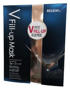 Regen V Fill-up Masks 3D Lifting Volume Effect Facial Skin Wrinkle Care-5 Sheets #Regen