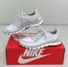 35409538bc1a Nike Free 5.0 V4 Neutral Grey White Zebra Print Size 7 B Sneaker Women s  White Zebra