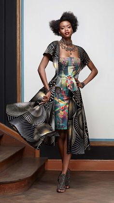 Vlisco V-Inspired African Fashion African Inspired Fashion, Africa Fashion, African Wear, African Women, African Style, African Models, Afro, Ghanaian Fashion, Ankara Fashion