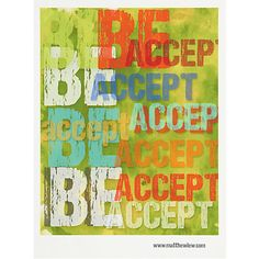 accept and be poster in shop one of a finds | CB2