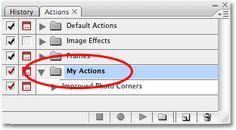 """Photoshop Actions - TUTORIALS! This one is part of a series, """"Recording An Action"""""""