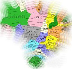 Brasil da língua portuguesa,  de 27 estados,   5.513 municípios...