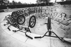 Time for a break. #bmx