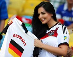 Tifosa tedesca al Maracanà #Mondiali2014