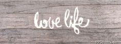 love life Facebook Cover