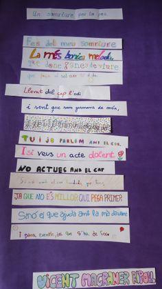 Collage poètic per al dia de la Pau. 30 de gener.