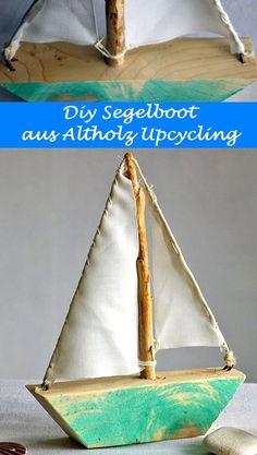 Diy Deko, Selbermachen Deko Segelboot Aus Altholz Und Tiffanyglas Schiff, U2026  | Segelboote Aus Holz, Diy, Selbermachen, Geschenke, Wohnen, Wooden Ships  ...