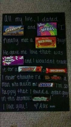 Such a cute idea for a love note!