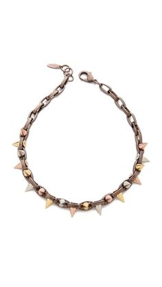 Joomi Lim spike necklace, now 50% off. Tempting! (So versatile)