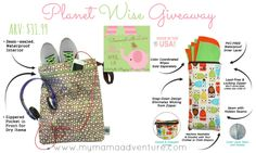 Showered with Love Giveaway Hop {Featuring Planet Wise} #ShoweredLove