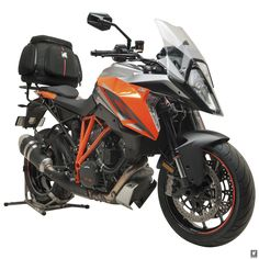 Stable, versatile, light & slim, Ventura's Bike Pack System is the perfect carrying solution for the new breed of sporting adventure bikes, like KTM's Ktm Duke, Motorcycle News, Racing, Bike, Wordpress, Motorbikes, Running, Bicycle, Auto Racing